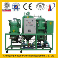 superior quality used oil filtering machine wth waste oil regeneration