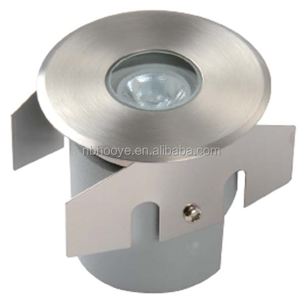 12VDC/24VDC 1W Recessed LED Deck Light