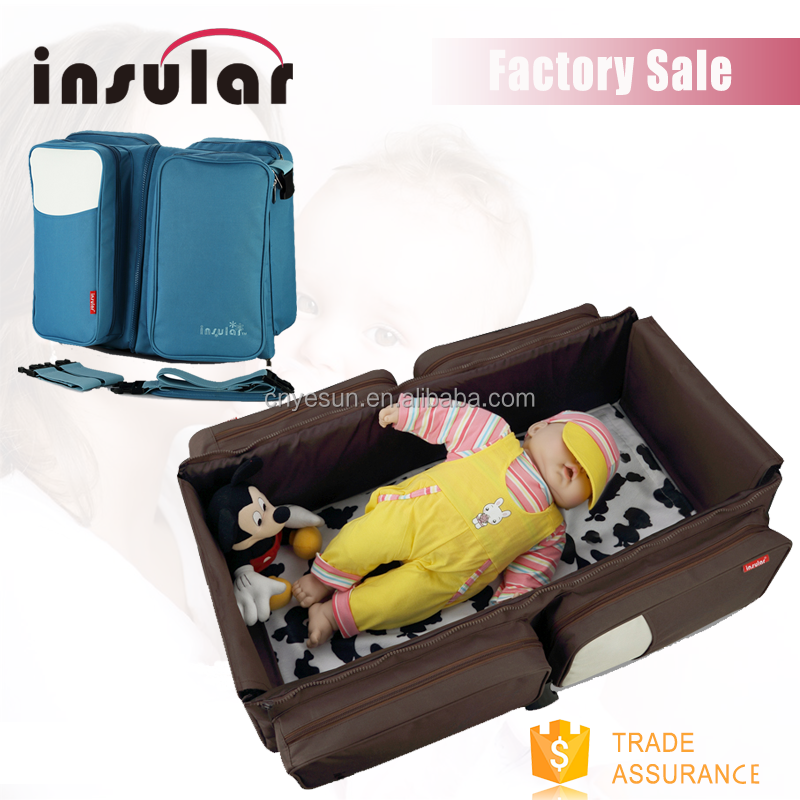Hot products 2016 NEW portable foldable baby crib cot travel bag