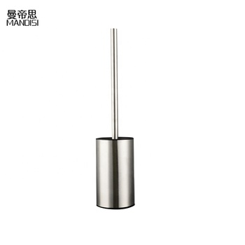 Promotion Stainless Steel Toilet Brush With Hold for Hotel and Household