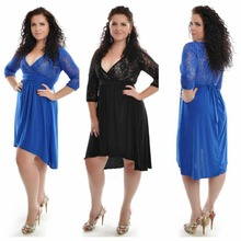 F20462A European fashion ladies new model dress ladies fashion lace dress deep v neck see through sexy dress for ladies