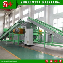 Top Quality Scrap Car Recycling Machine with Double Shaft