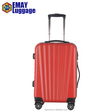 2018 New Design White color Carry-on luggage ABS Suitcase