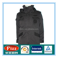 special policeman padded coat in stock