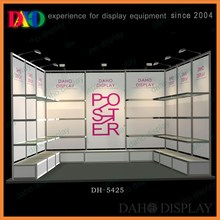 designed exhibition booth for trade show