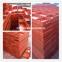 Alibaba china construction material concrete retaining wall formwork ,doka wall formwork ,SGS certification approved