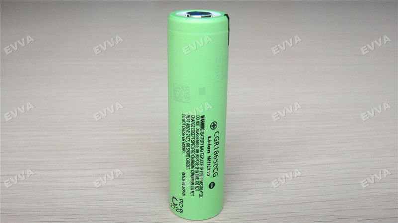 Rechargeable 18650 lithium battery cell for Panasonic CGR18650CG 2250mAh
