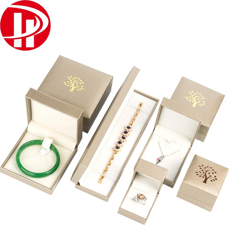 Custom Necklace Bracelet Ring Watch Jewellery Packing Box Velvet Insert Gold Leatherette Paper Gift Packaging Jewelry Box Buy Jewelry Box Packaging