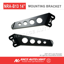 Accessoires For jeep 07-13 led Work Light Mount Bracket, Steel Metal LED Light bar Mounting Brackets