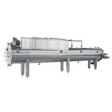 China Vacuum belt conveyor vacuum dryer for liquid and paste