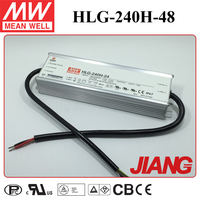 Waterproof Electronic LED Driver Meanwell HLG-240H-48 CB CE TUV UL Appeoved