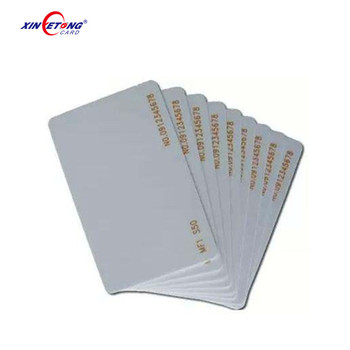 Customized Printed Contactless HF Rewritable 13.56mhz IC Smart Inkjet Blank Printable Card