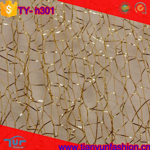 2015 new arrived wholesale shaoxing market textiles gold metallic lace trim