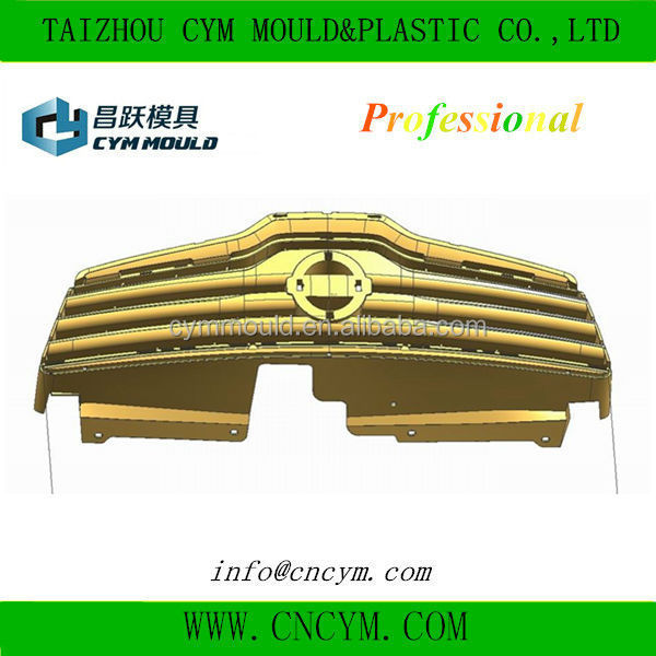 OEM custom car grill plastic mould