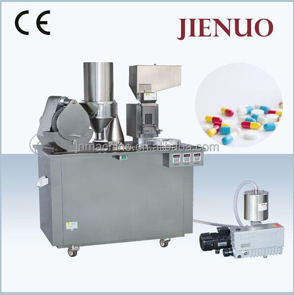 Small Semi Automatic Capsule Filling Machine Manual for Powder Pellet