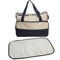 Travel canvas mummy baby diaper bag baby carry cot bag