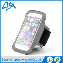 Whosale Adjustable Gym Jogging Running Sport Reflective Armband Case for iPhone 6 & iPhone 6S