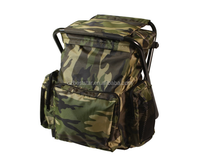 Stool Backpack - Combo Pack, Woodland Camo
