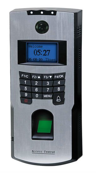 Fingerprint Access Control with T&A Reader and Video Door Phone Function