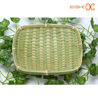 handmade bamboo folding apple basket wholesale