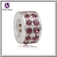 jewelry wholesale china wholesale woman accessories 925 sterling silver bracelets spacer