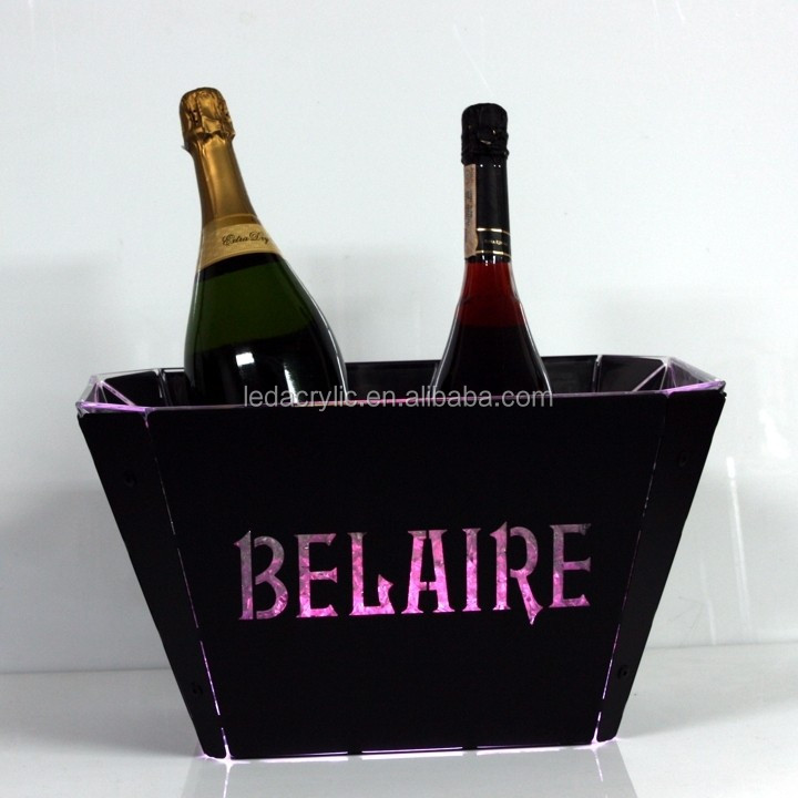 belaire rose champagne LED Ice Bucket