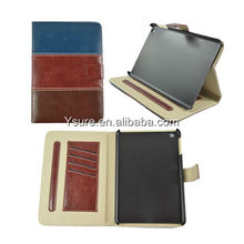 Mix color Leather Stand Case for iPad mini 2