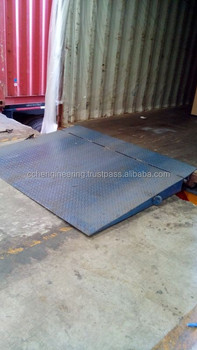 Container Ramp / Platform Container (with hinge)