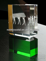 Noble New Design 3d Laser Crystal Craft