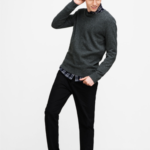 fashion handmade knit wool sweater designs pullover for men