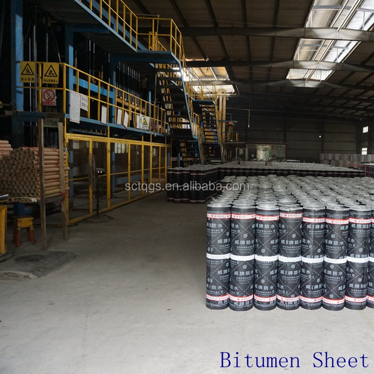 flameless welding bitumen sheets for construction company in oman thailand