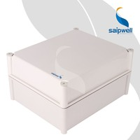Saip / Saipwell ABS Electric Case China Rail Box Enclosure New Waterproof Plastic Box with Cover