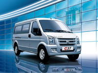 Dongfeng New updated C37 mini cargo van, passenger van for sale 7-11 seats