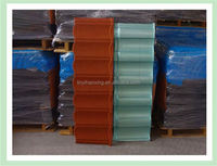 types of stone coated metal roofing factory in china