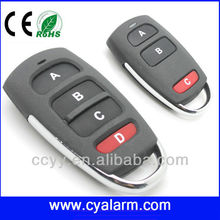 remote control for car key 4 ch clone remote control gate opener duplicator 433MHz