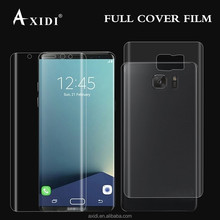 100% perfect it! Full coverage curved transparent TPU film for S8 S8 plus screen protector packaging
