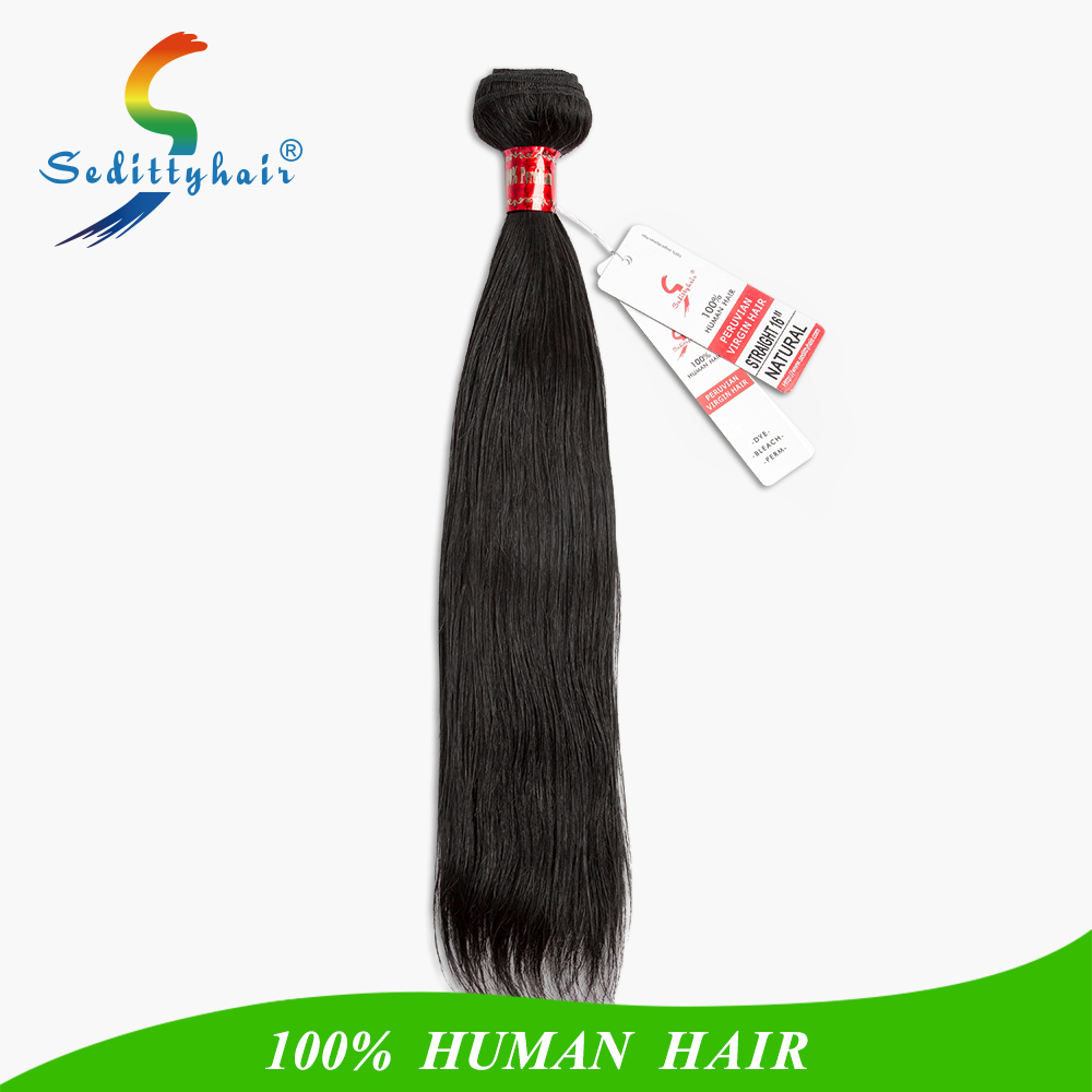 Fashionable hot sale silky straight wave color #33 100% peruvian hair weave brands