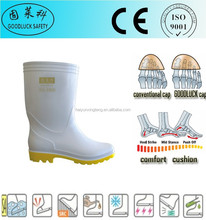 grease-proof pvc boots men clear pvc rain boots