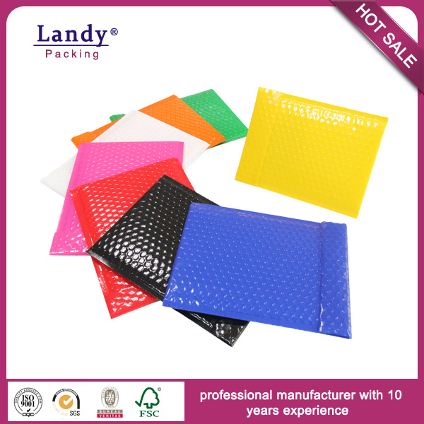 Color Envelope Bubble Poly Mailer