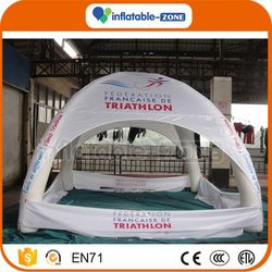 Best quality ble tent/ inflatable spray booth inflatable large camping tent price