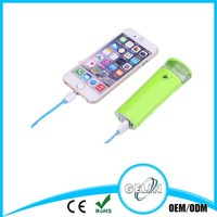 Small and Portable spray mobile power supply power bank