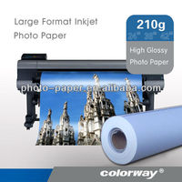 115 / 80g large format high glossy inkjet photo sticker paper