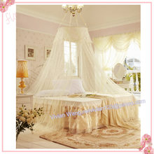 2016 hot sale!home decor anti mosquitoes queen size bed canopy mosquito net for adults bed