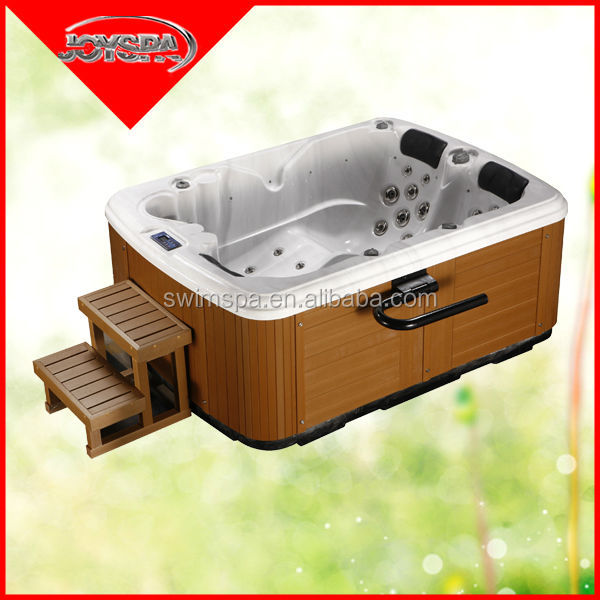 Europ style CE certification hydro mini INDOOR mini sex hot tubs indoor spa hot tub