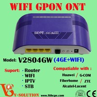 4 enternet Internet 300Mbps Wireless Router GPON ONT ONU