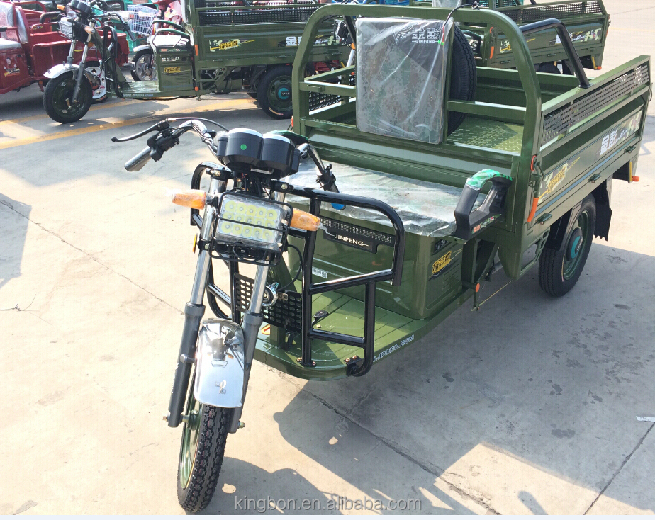 new model battery three wheel tricycle for loading goods china electric vehicles