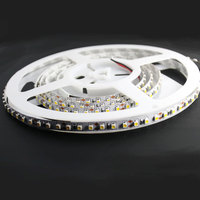 LED3528 computer controlled 2400K warm white led strip lighting ip20 non waterproof