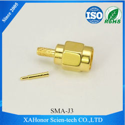 XAHonor's BNC bnc connector male for rg213 cable RG58