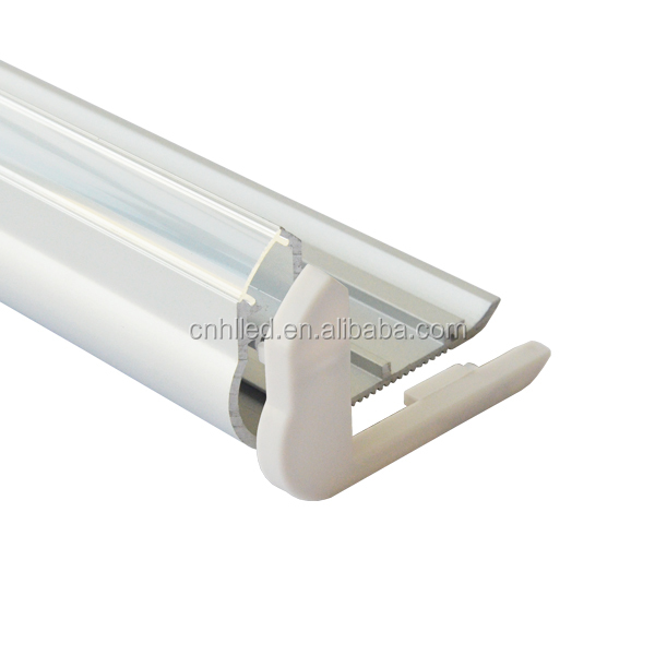 aluminum profile with cover for led strip light stairs edge lighting