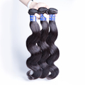 Free shedding 22 inches body wave Peruvian virgin human hair wholesale